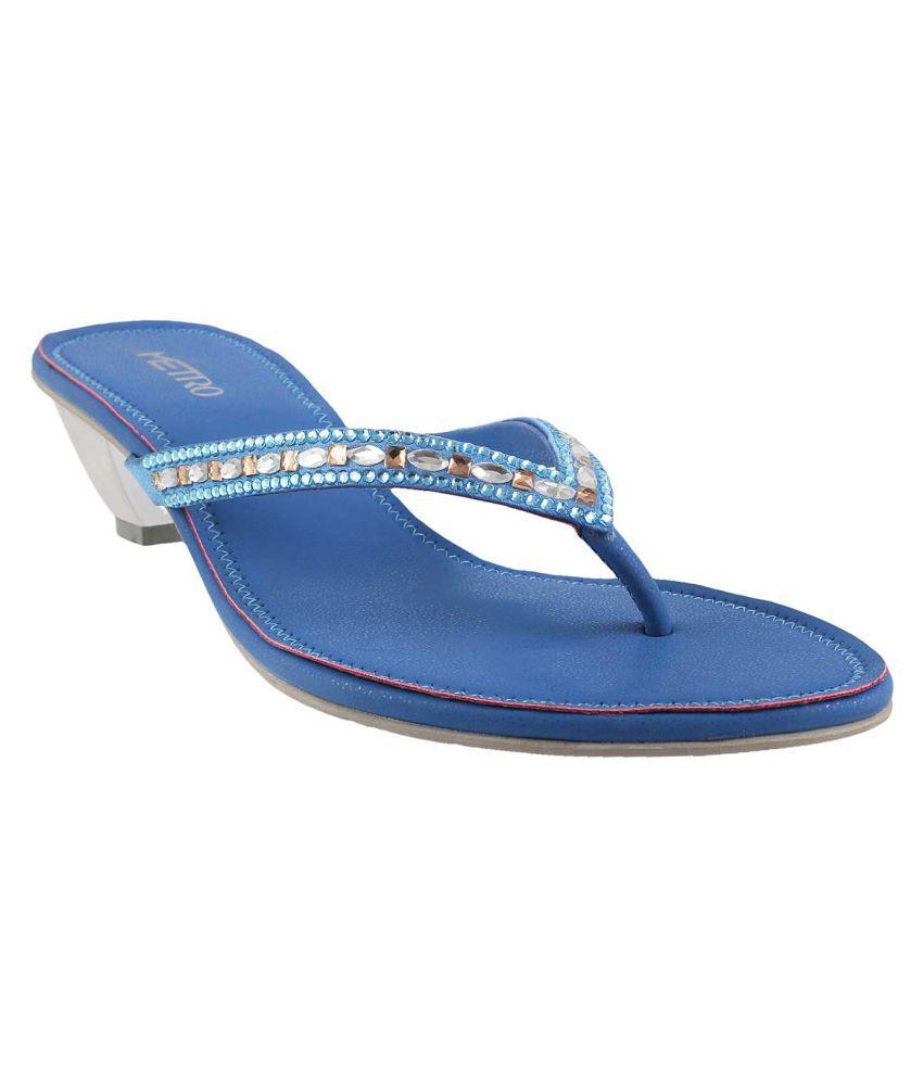 METRO BLUE Flats