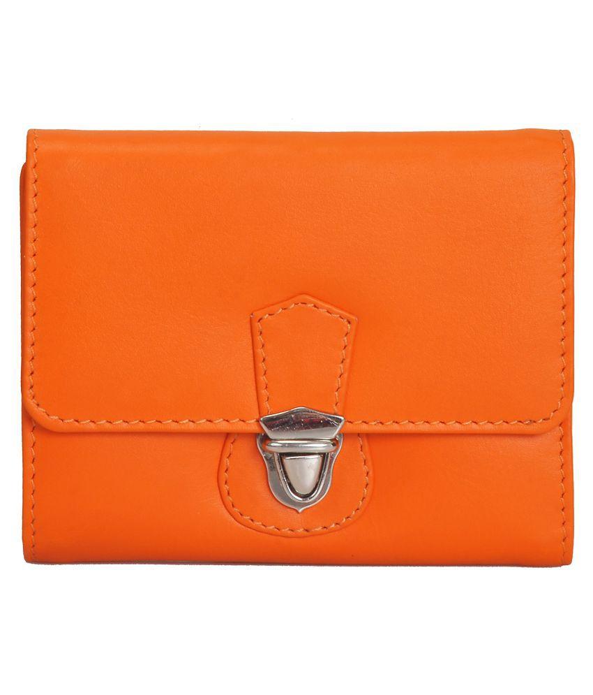 Mandava Orange Wallet