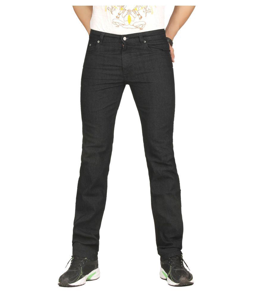 Dare Black Regular Fit Jeans