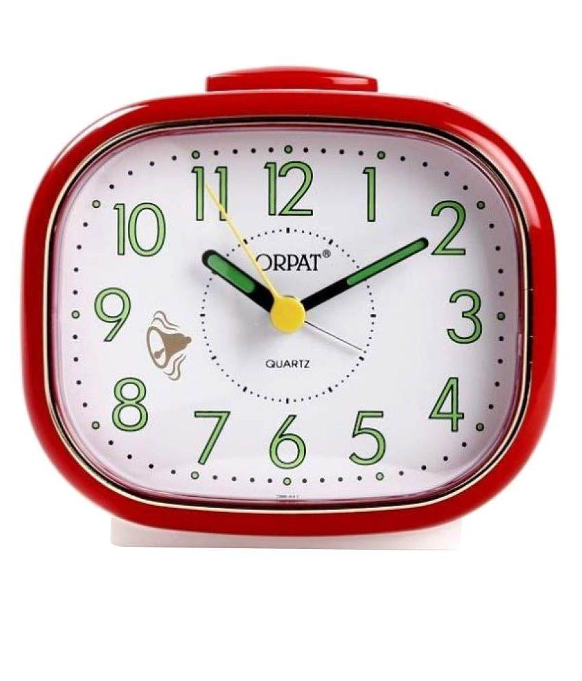 Orpat Analog Alarm Clock - Pack of 1