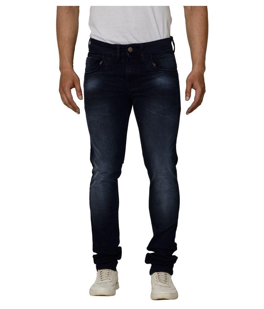Bearberry Dark Blue Slim Jeans