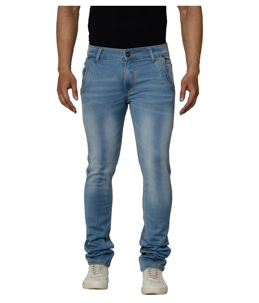Bearberry Light Blue Slim Jeans