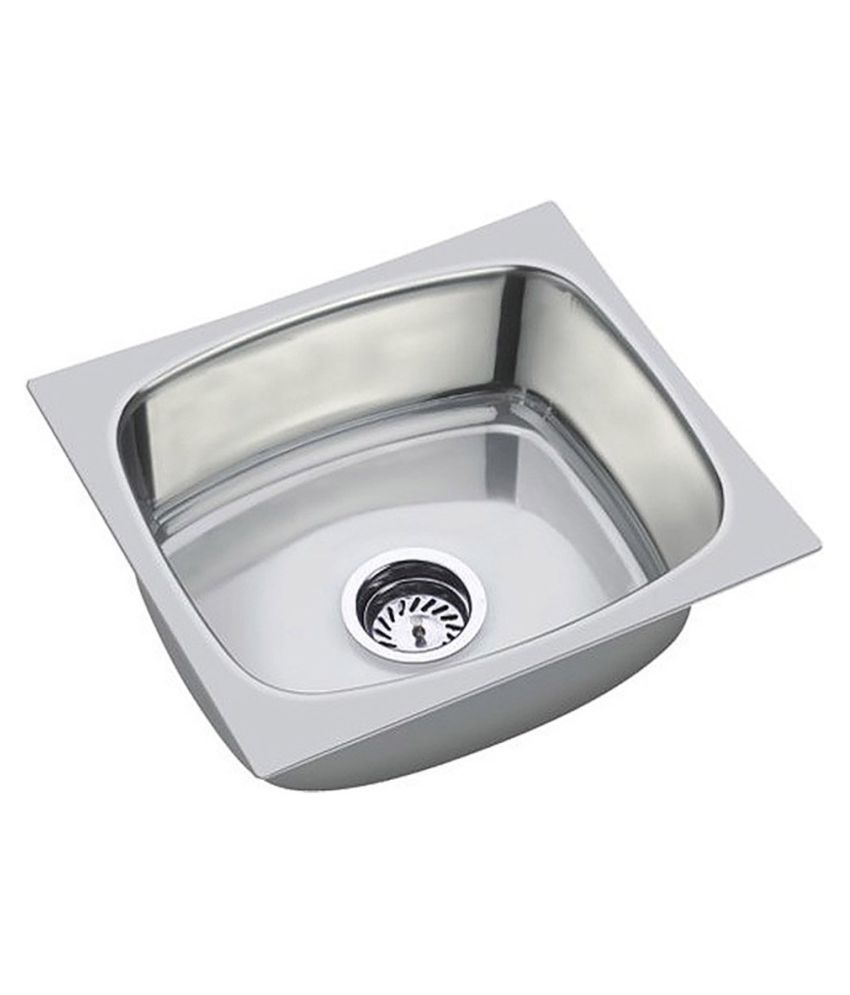 buy jindal sink stainless steel single bowl sink without drainboard
