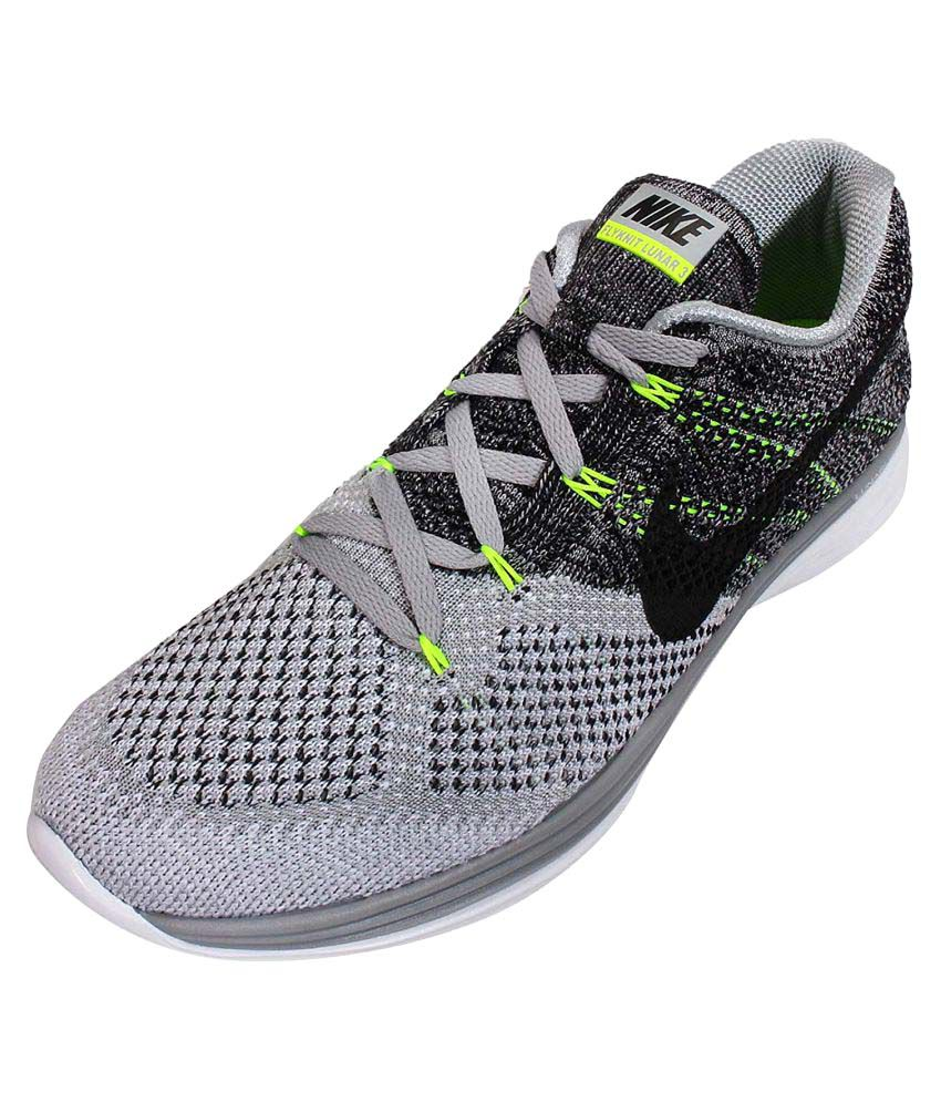 5fef5d50bfbf Nike Lunar Flyknit 3 Running Shoes - Buy Nike Lunar Flyknit 3 Running Shoes  Online at Best Prices in India on Snapdeal