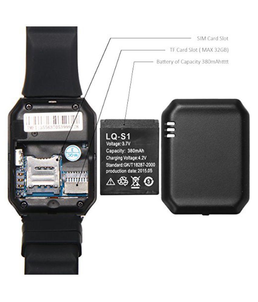 life like dz09 bluetooth with sim tf card slot smart watches