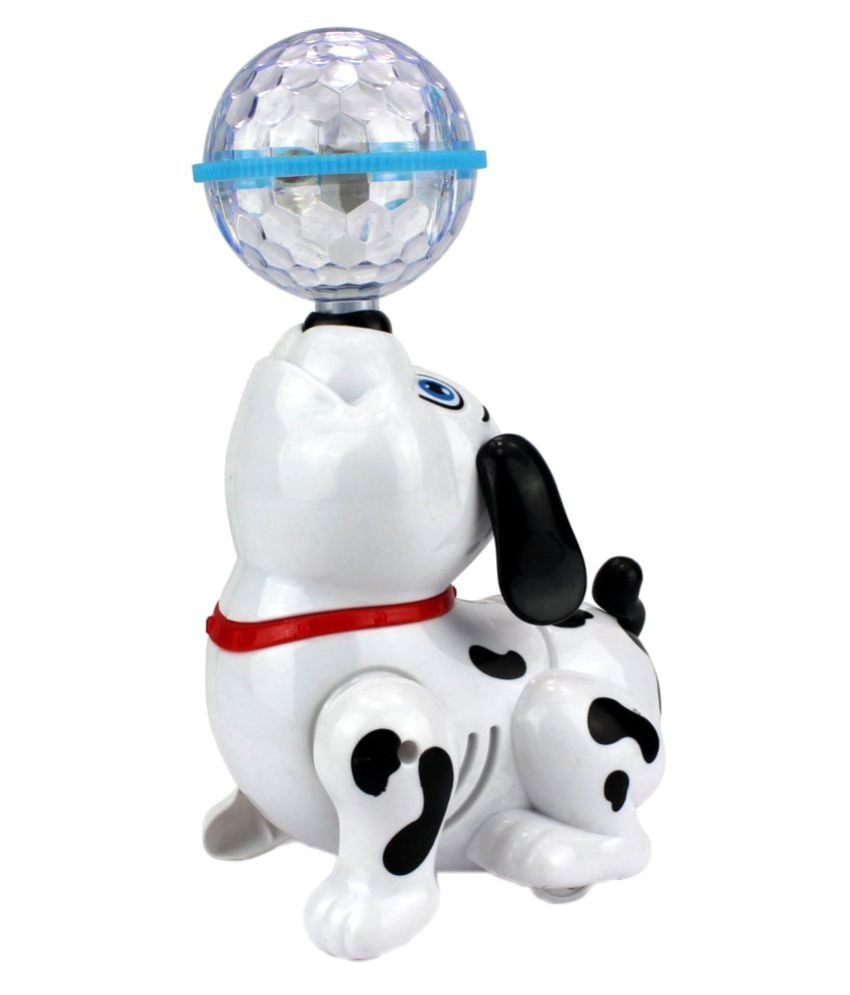 Dancing Dog Toy Dalmatian with Reflected 3D Lights Wonderful Music