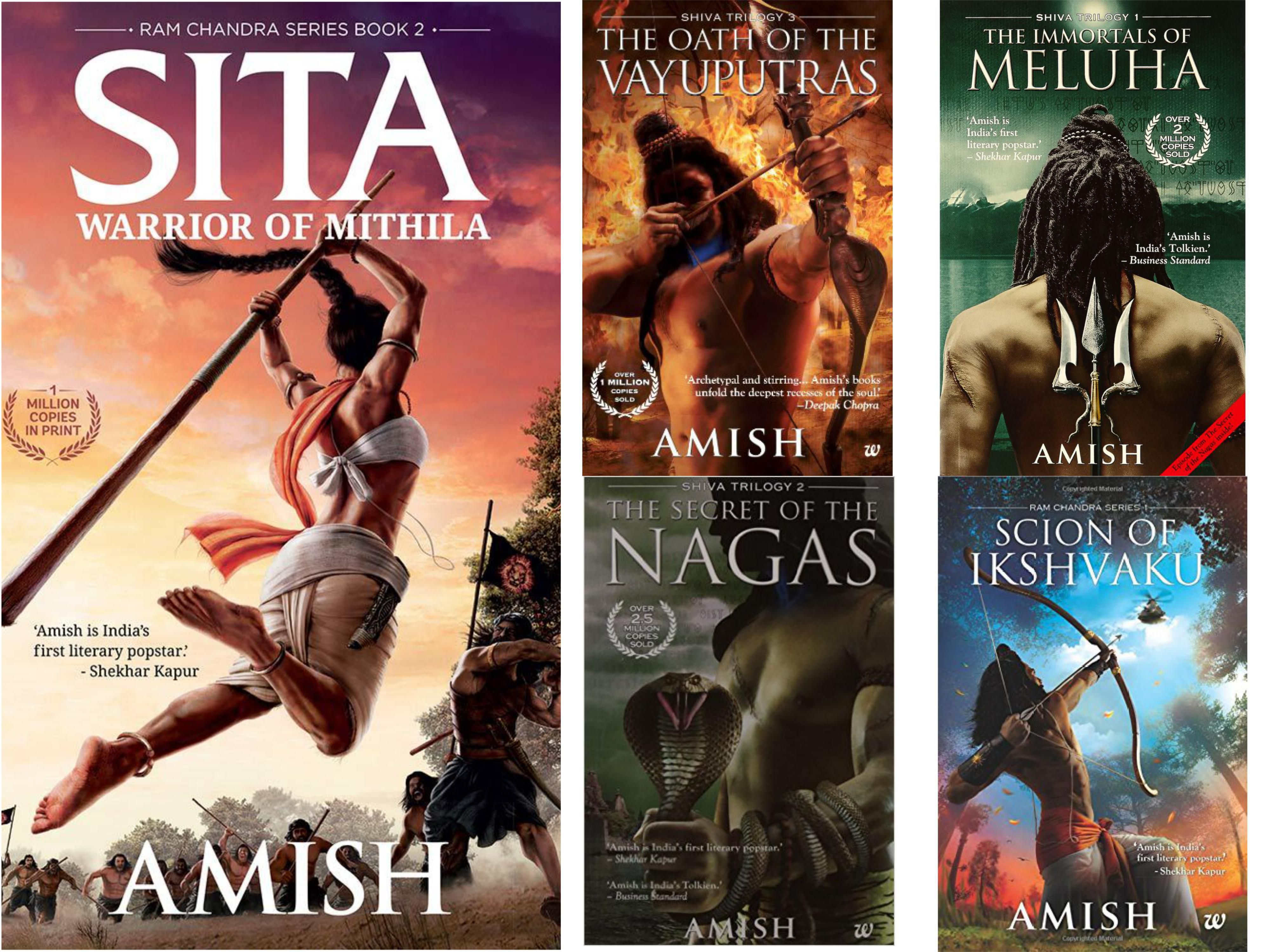 Sita Warrior of Mithila by Amish Tripathi Book 2 of Ram Chandra