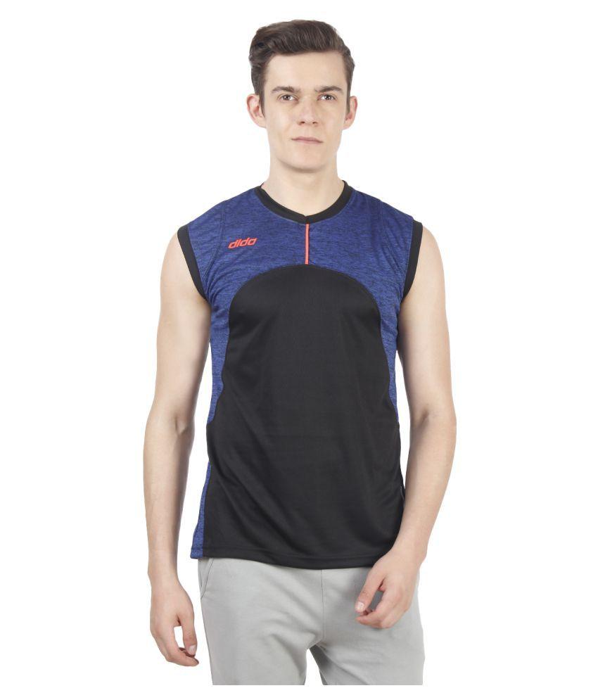 Dida Sportswear Multi Polyester T-Shirt
