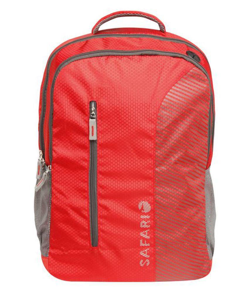 Safari Red Backpack
