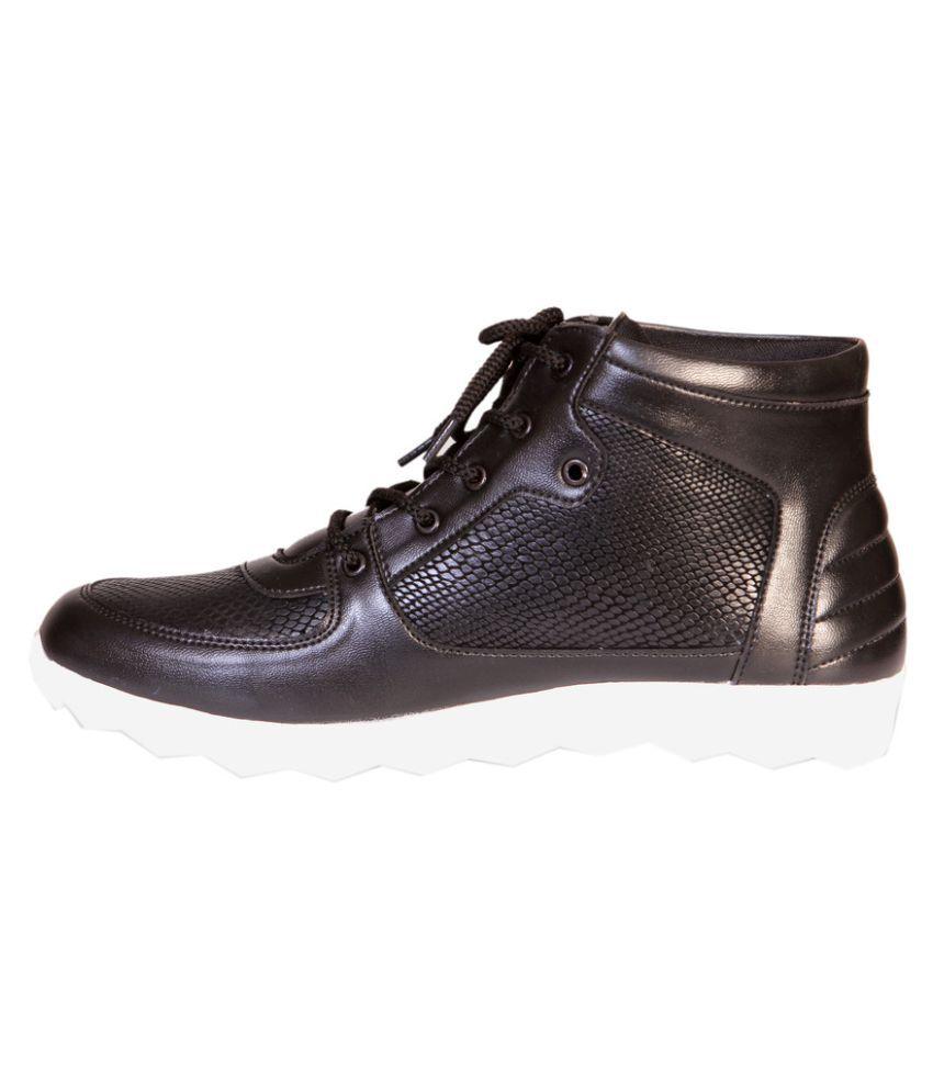 Destined Antiskid Lifestyle Black Casual Shoes