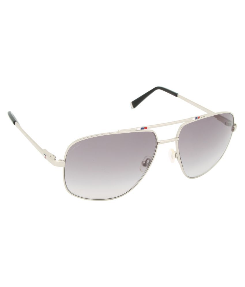 85b5e1de09 Tommy Hilfiger Grey Square Sunglasses TH 7965 Blk Grey C3 S available at  SnapDeal for