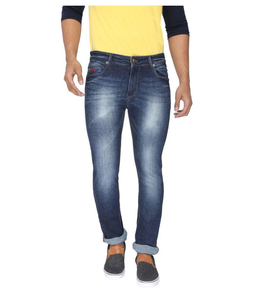Rican Dark Blue Slim Jeans