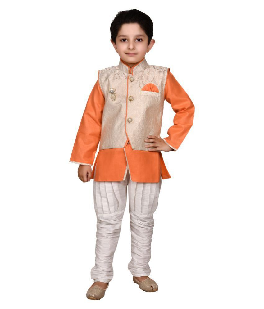 J D Creation Boys Designer indo western kurta & pyjama set