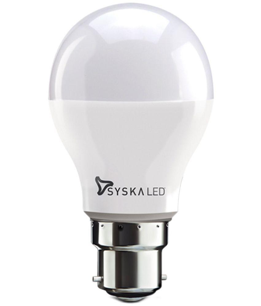 Syska 3W LED Bulb Cool Day Light   Pack of 1