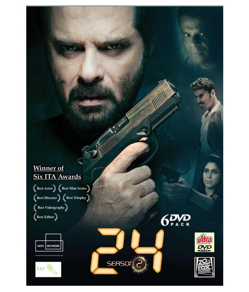 24 Indian TV series season 2 ( DVD ) - Hindi