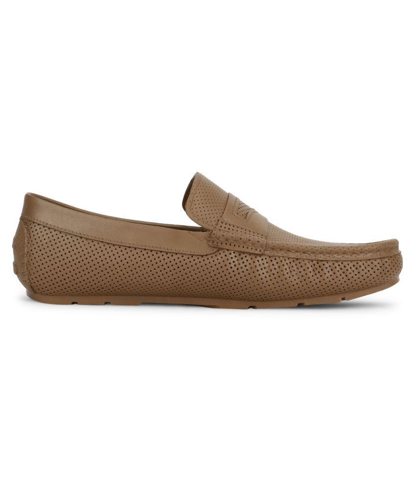 Aqualite Brown Loafers - Buy Aqualite