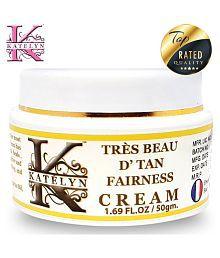 Katelyn TRÈS BEAU D Tan Fairness Cream Day Cream 50 Gm
