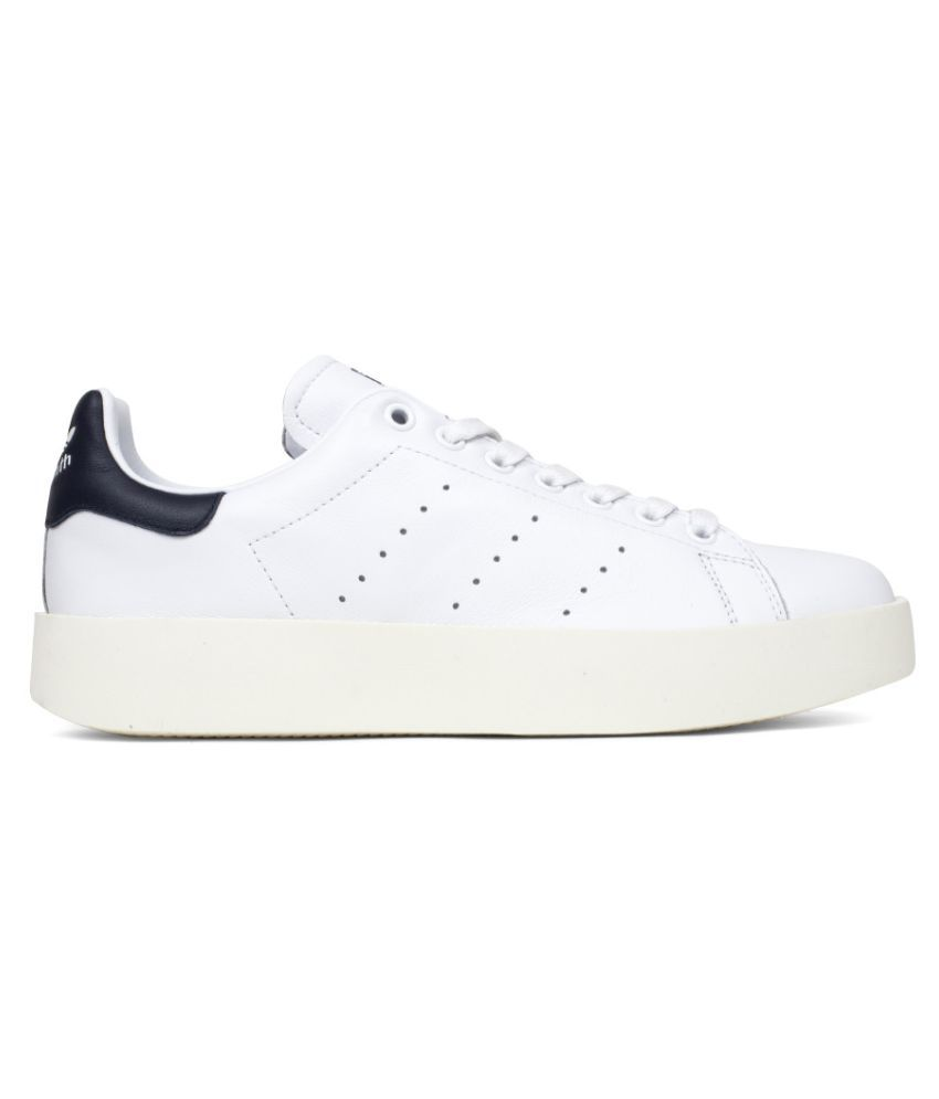 san francisco 73f9c fee78 Adidas Stan SMith Bold W Sneakers White Casual Shoes