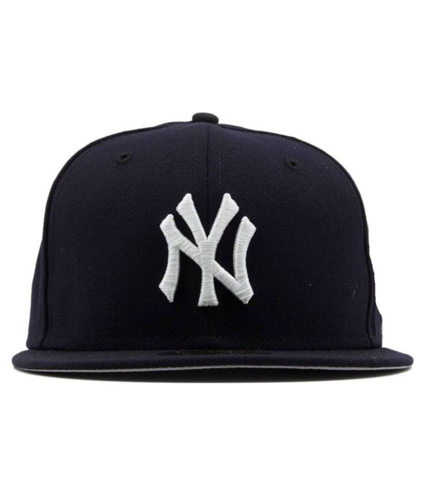 0ec44619f Tahiro Black Cotton NY Cap for Boys - Pack Of 1: Buy Online at Low Price in  India - Snapdeal