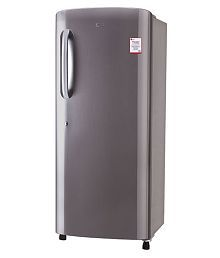 LG 235 Ltr 4 Star GL-B241APZX Single Door Refrigerator - Steel
