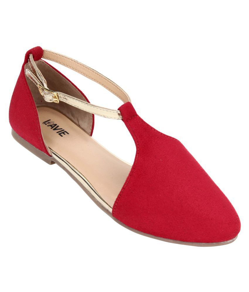 Lavie Red Flats