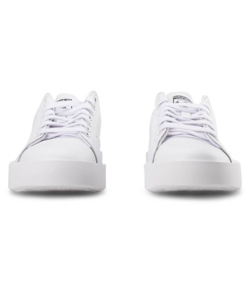 9edd42ce7e3 ... Adidas Stan Smith Bold W Sneakers White Casual Shoes. Hover to zoom