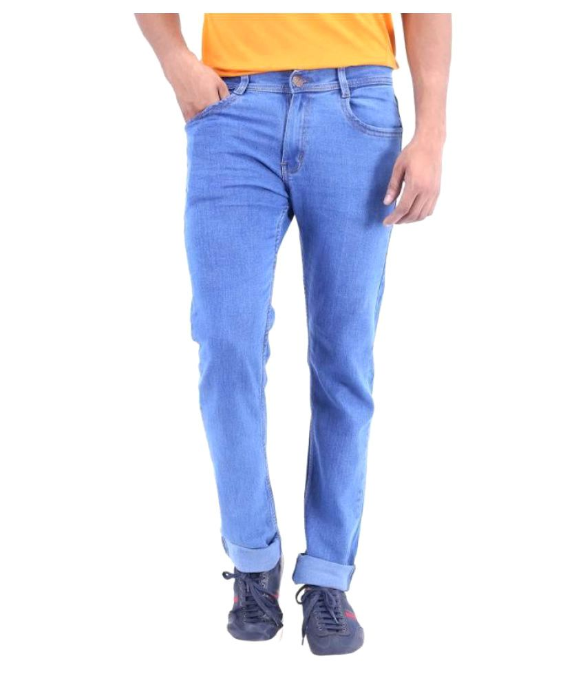 FunTree Blue Regular Fit Jeans