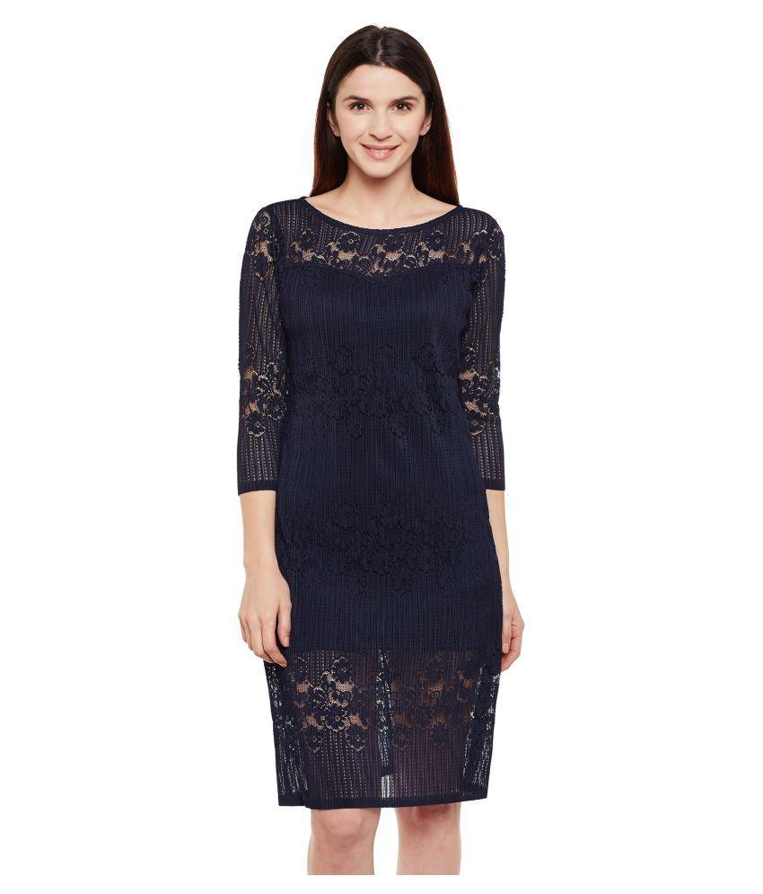 Wisstler Polyester A- line Dress