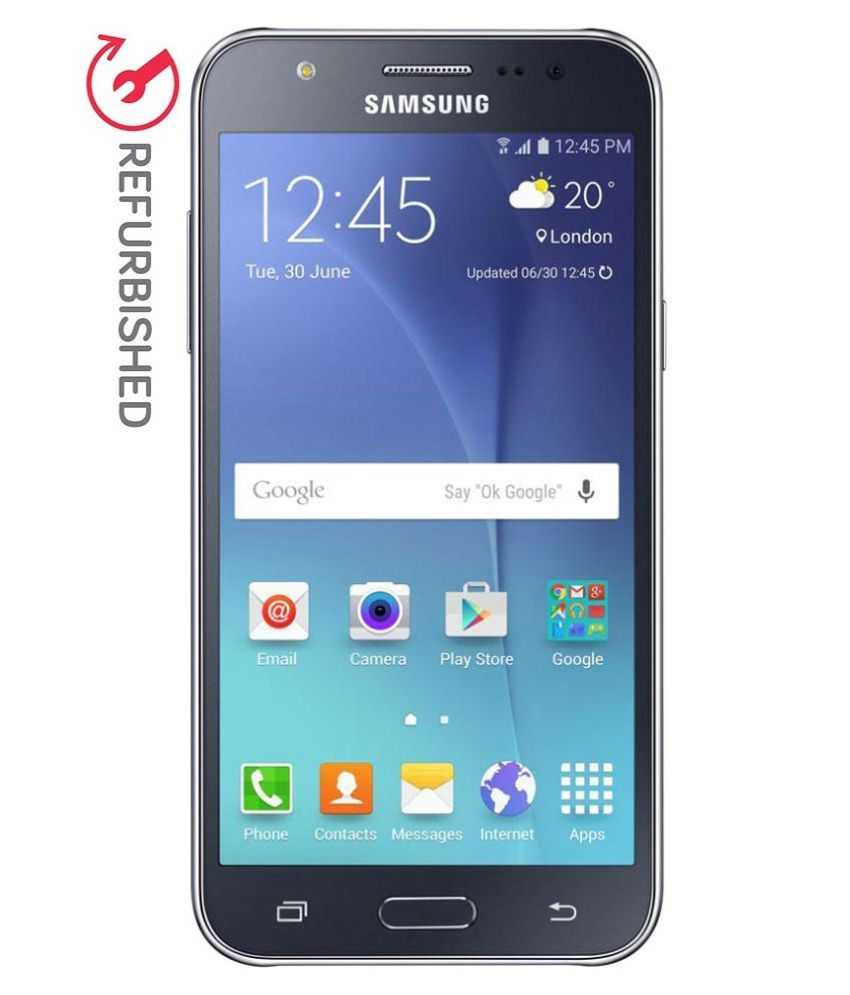 REFURBISHED Samsung Galaxy J7 16 GB Black available at SnapDeal for Rs.10332