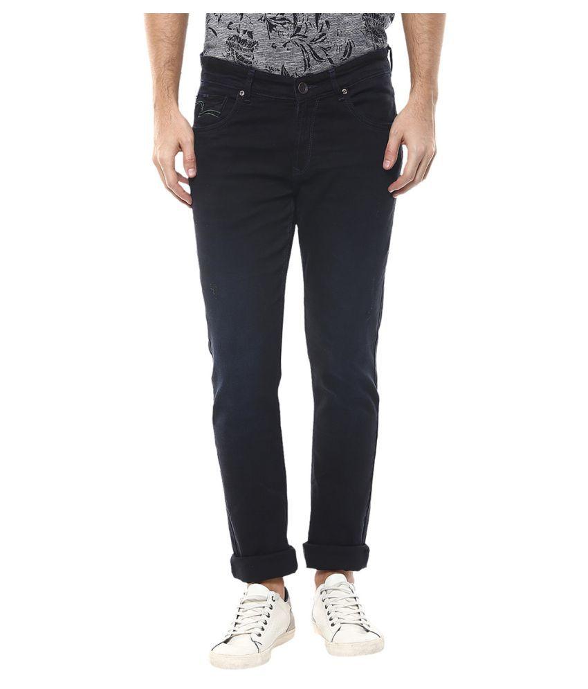 Spykar Blue Skinny Jeans