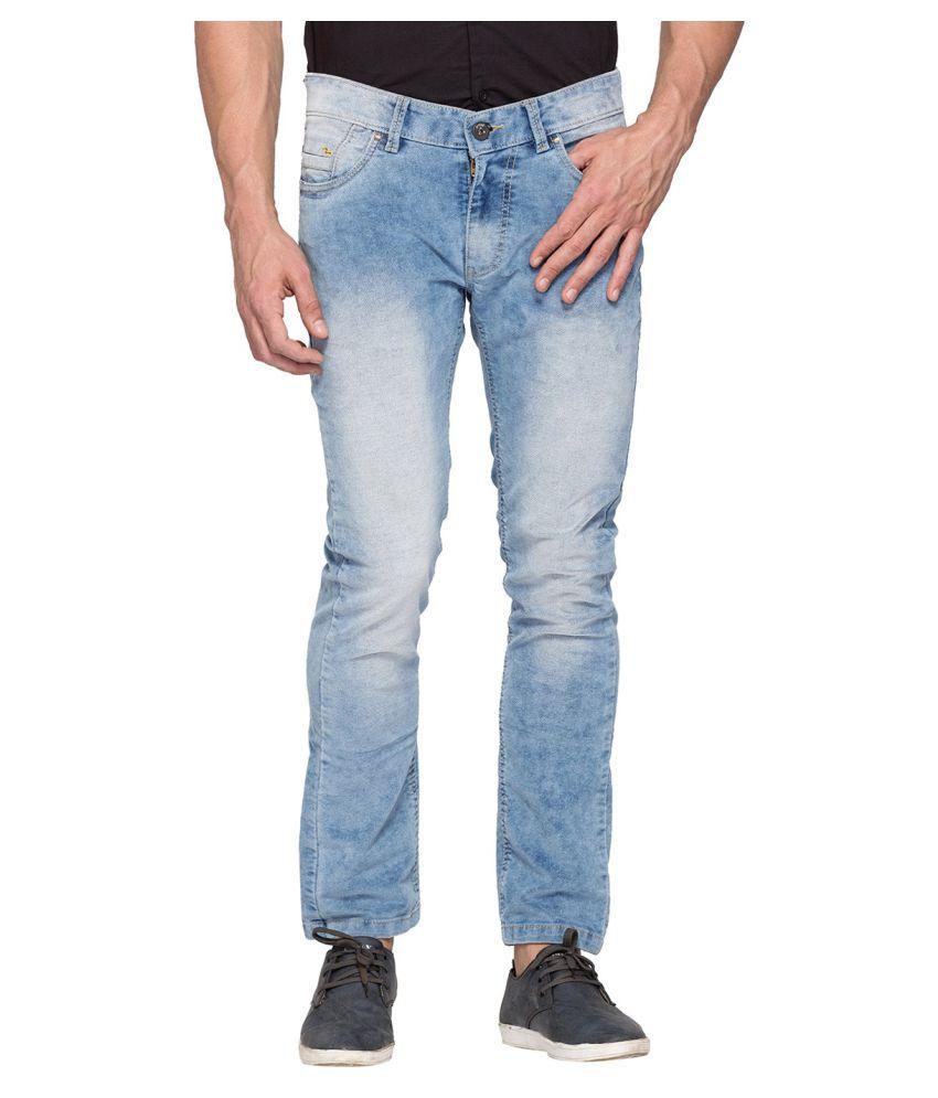 Spykar Blue Slim Jeans