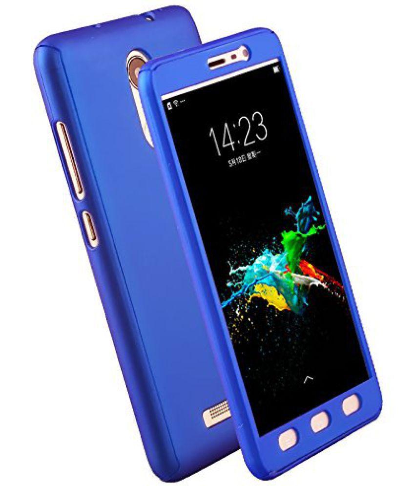 Xiaomi Redmi Note 4 Plain Cases Kosher Traders - Blue