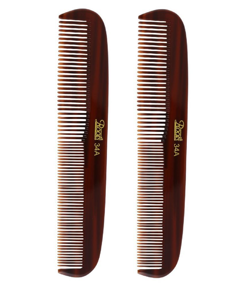 Roots Rattail Comb Pack of 2