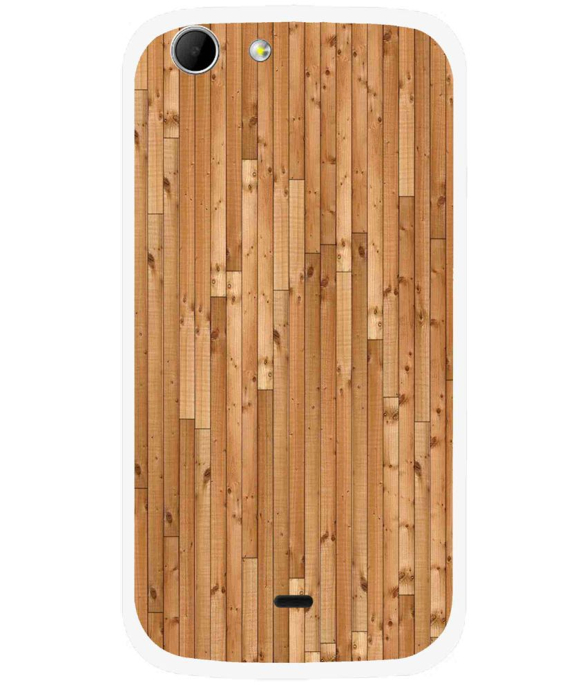 Xiaomi Redmi 2s Plain Cases Snooky - Brown