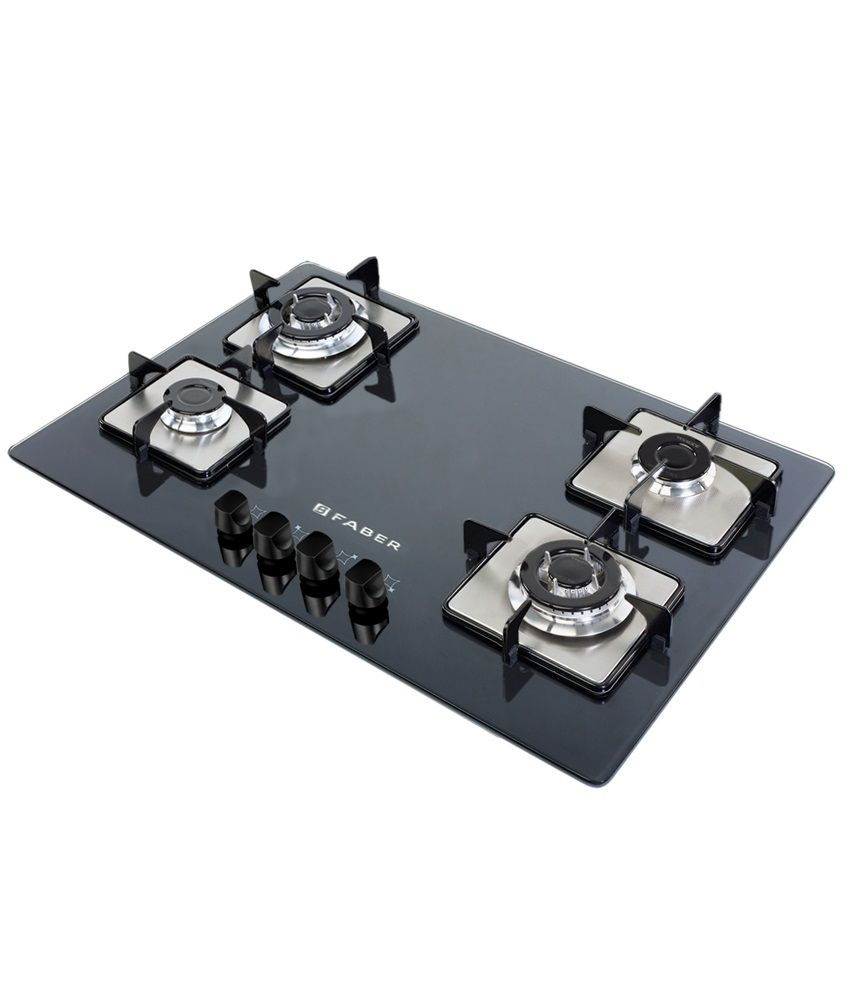 Faber GB-40-SSP Hob (Square Plates) Price in India - Buy Faber GB-40 ...