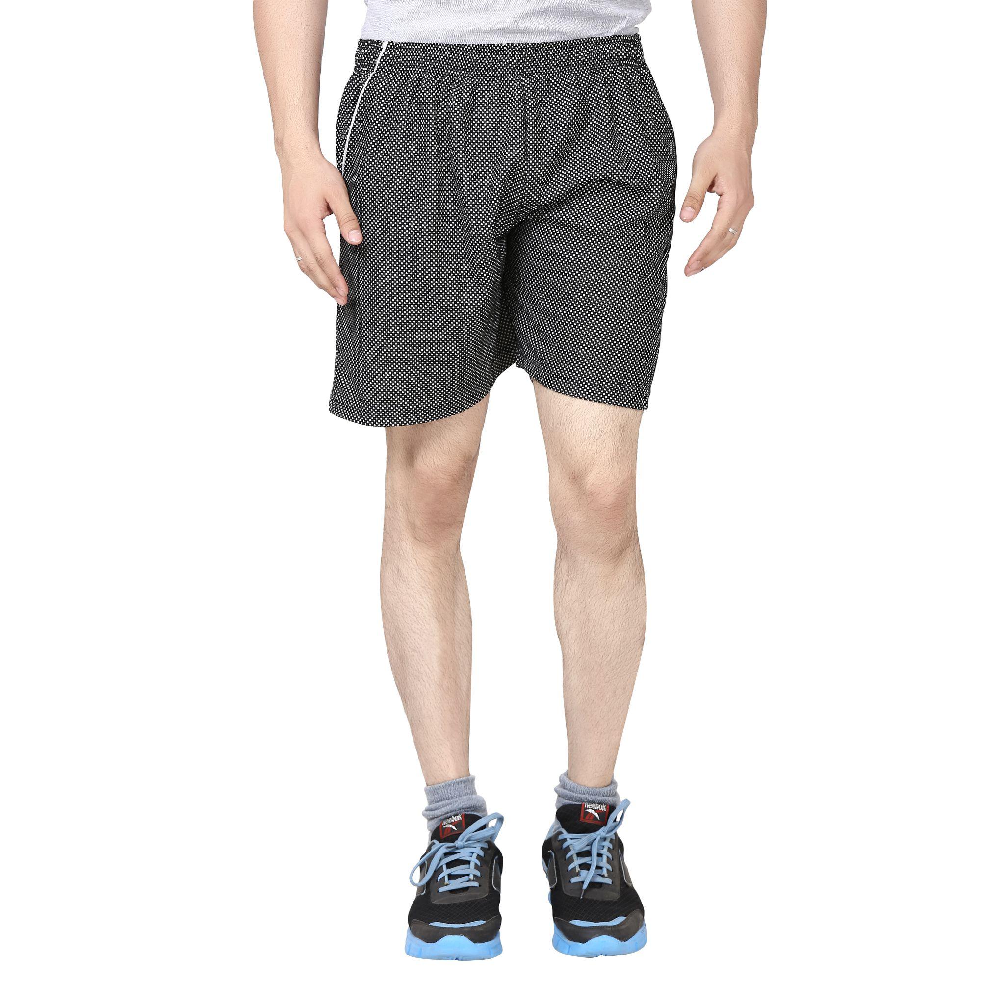 Akaas Black Shorts