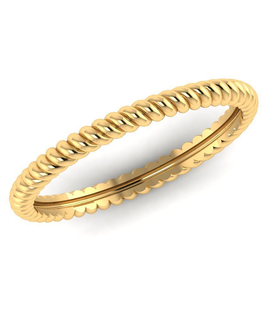 Dioro 18k Yellow Gold Ring