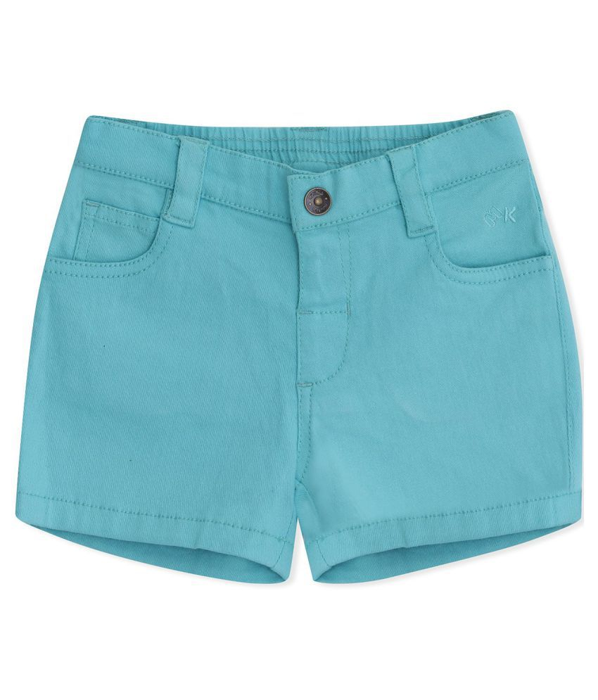 FS MiniKlub Girl's Short Length Bottoms-Aqua