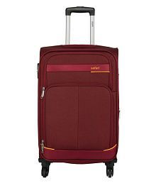 Safari Maasaimara Red Large 4 Wheel Luggage Trolley