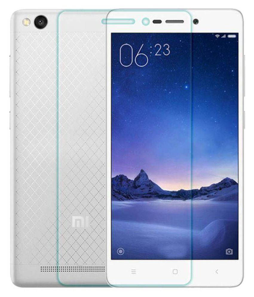 Xiaomi Redmi 3s Prime Tempered Glass Screen Guard By RSC Power+