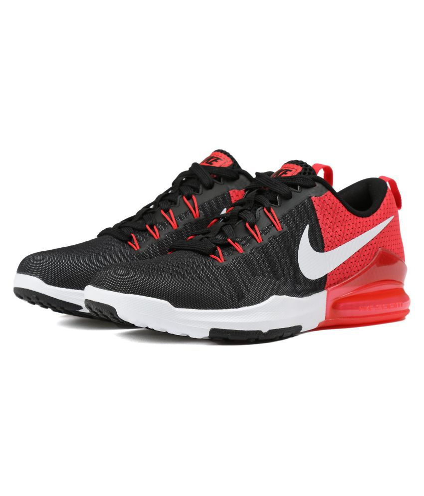 b16af24ef8e3 Nike Zoom Train Action 3 Black Training Shoes - Buy Nike Zoom Train Action  3 Black Training Shoes Online at Best Prices in India on Snapdeal
