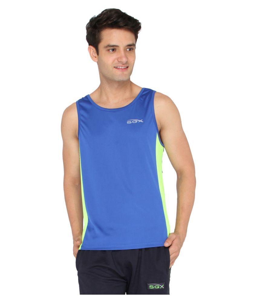 SGX Blue Round T-Shirt