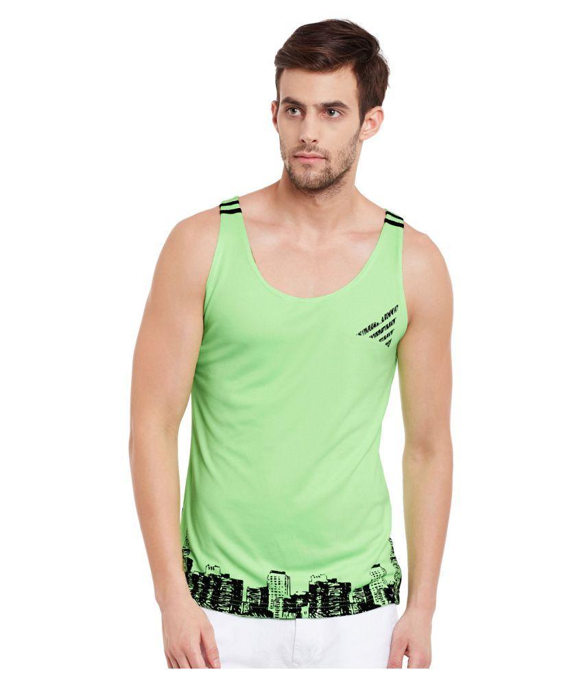 The Vanca Green Round T-Shirt
