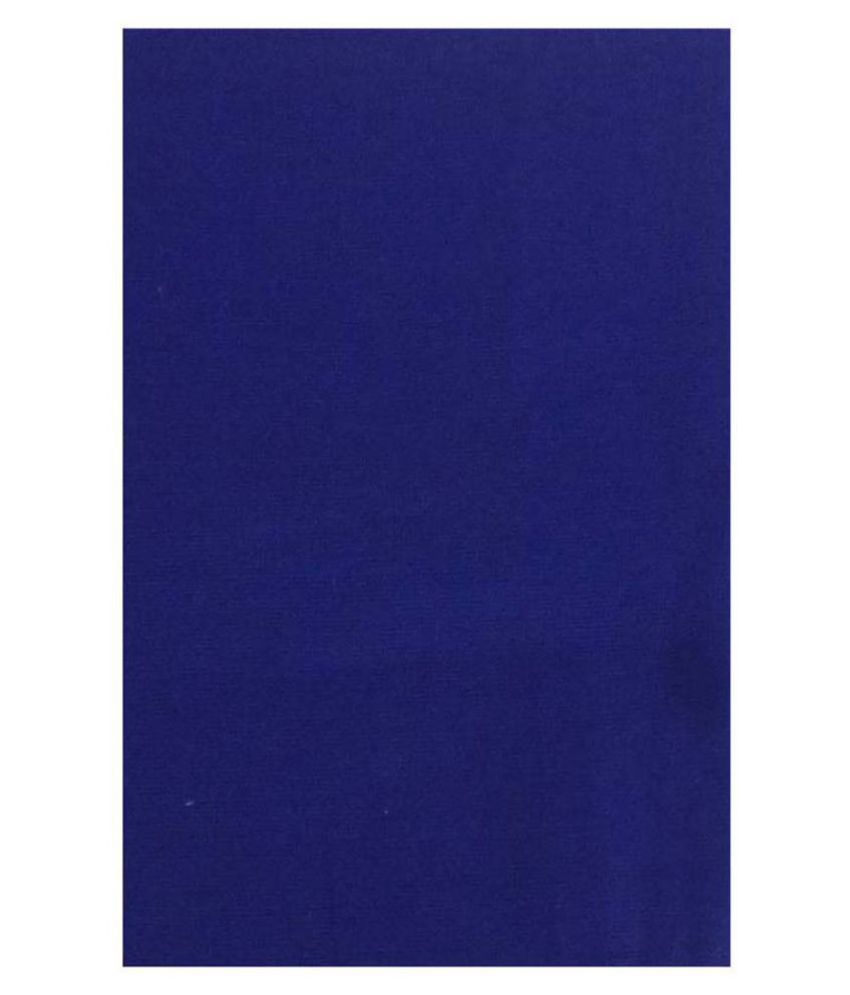 Raymond Blue 100 Percent Cotton Unstitched Shirt pc