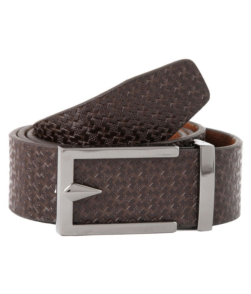 Waist Wire Brown Leather Party Belts