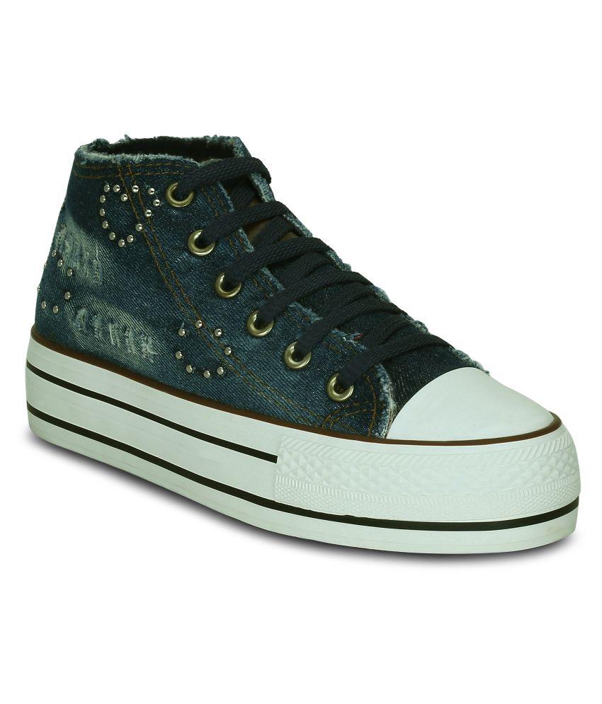 Kielz Navy Casual Shoes