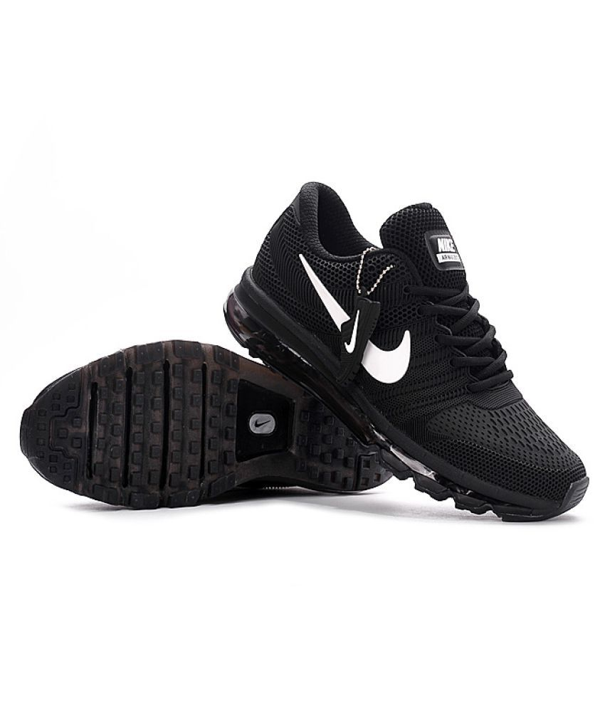 Black And Gold Nike Mens Shoes