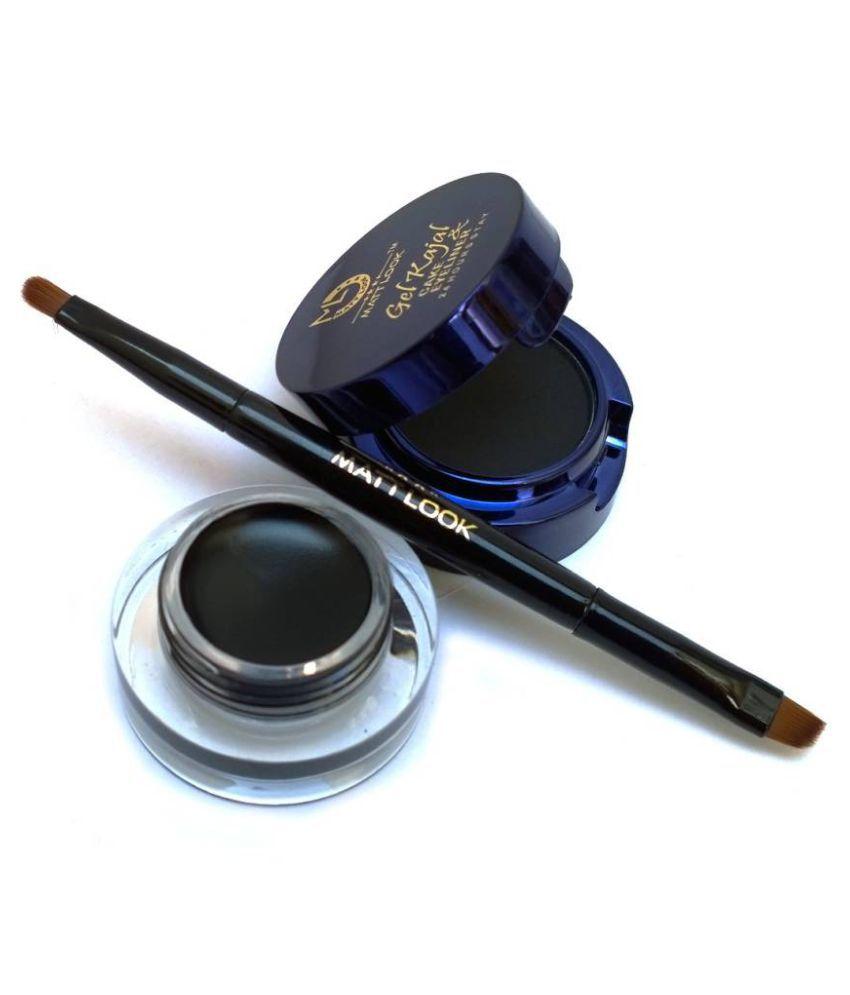 kajal gel makeup cake eyeliner matte fever