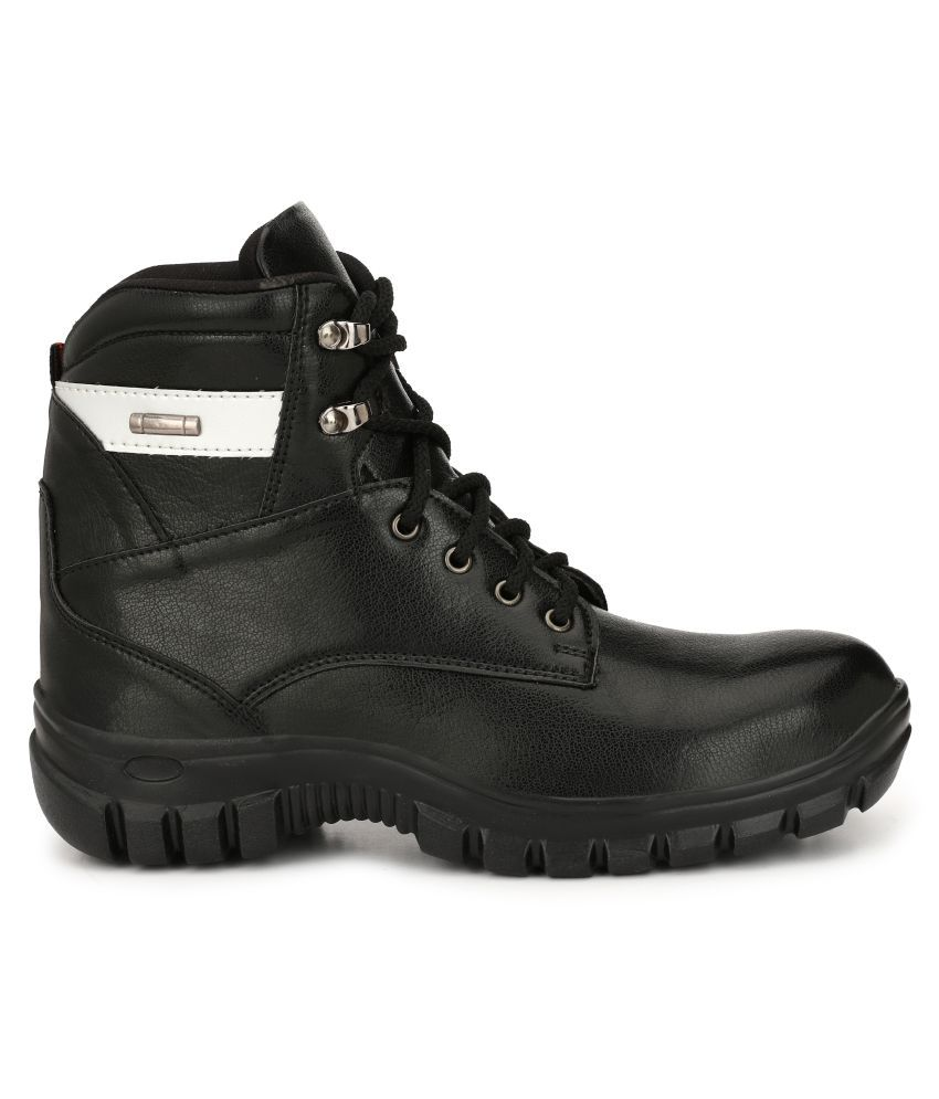 310d13f04ba7 Kavacha High Ankle Black Safety Shoes Kavacha High Ankle Black Safety Shoes  ...