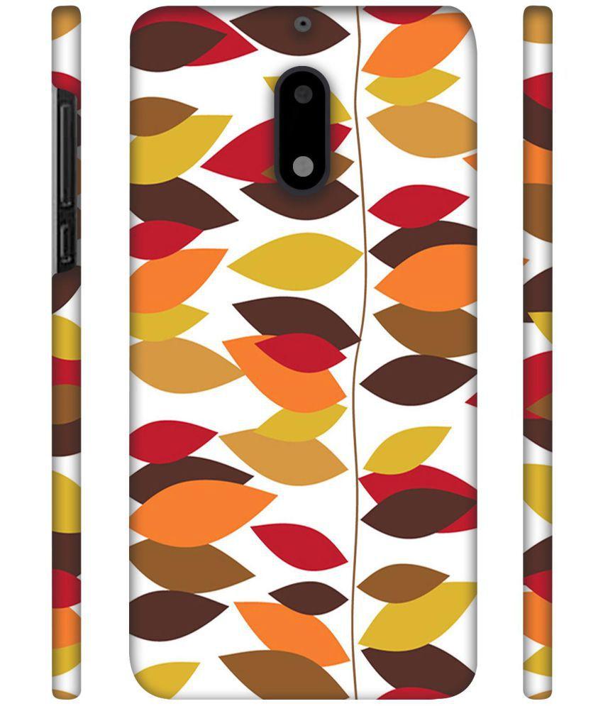 Nokia 6 Printed Cover By NattyCase